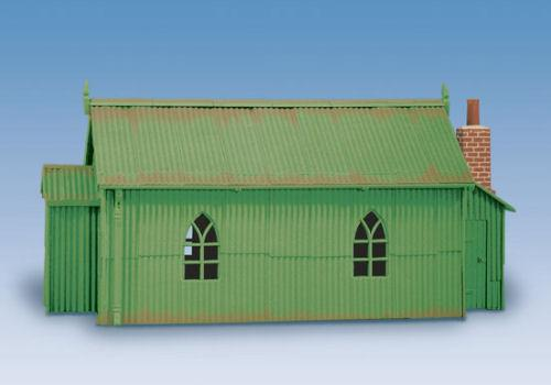 Wills Corrugated Iron Chape Oo Scale Buildings Wills