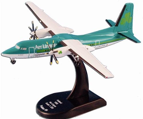 MODELPOWER FOKKER 50 A.L. 1 | IRISH AIRCRAFT | Diecast Vehicles ...