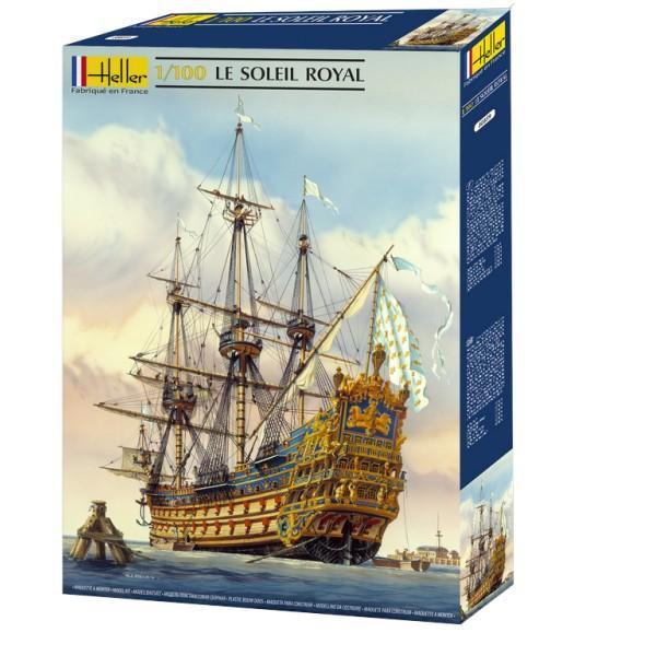 Heller Soleil Royal 1 100 Ships Heller Plastic Kits