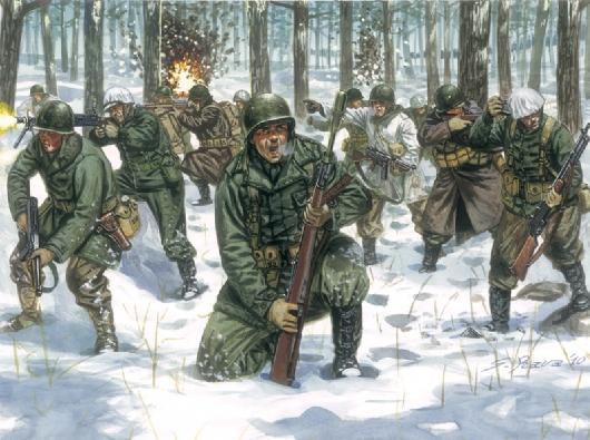 IALERI US INFANTRY WW2 1/72