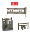 PECO GATES + STILES OO GAUGE