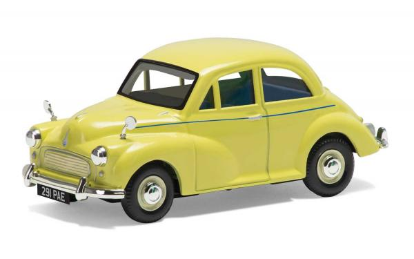 VANGUARDS MORRIS MINOR 1000 YELLOW 1/43