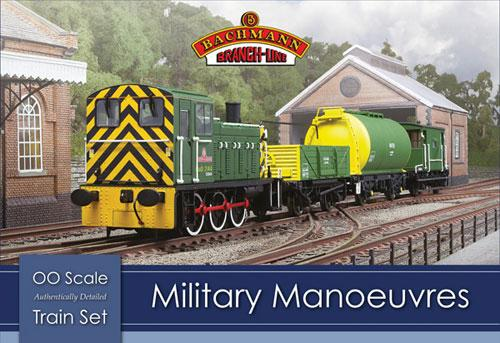 BACHMANN MILITARY MANOEUVRES TRAIN SET