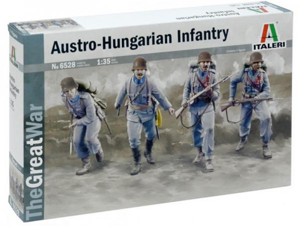 Italeri Ww1 Austro Hungarian Infantry Military 1 35