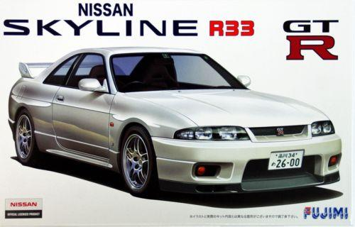 FUJIMI NISSAN R33 SKYLINE KIT 1/24