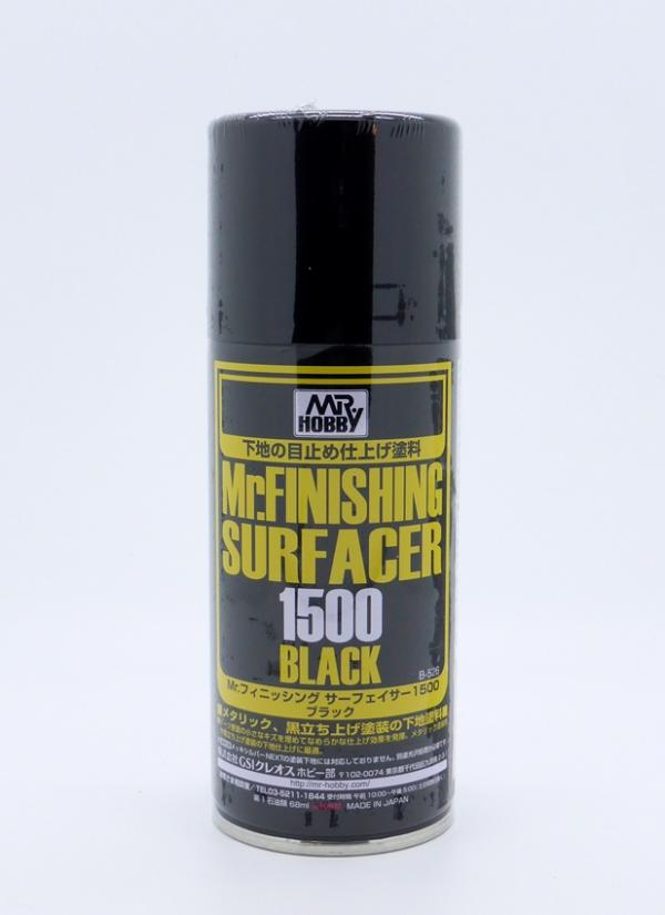 MR FINISHING SURFACER 1500 BLACK170ML