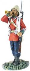 W BRITAIN BRITISH 24TH FOOT BUGLER