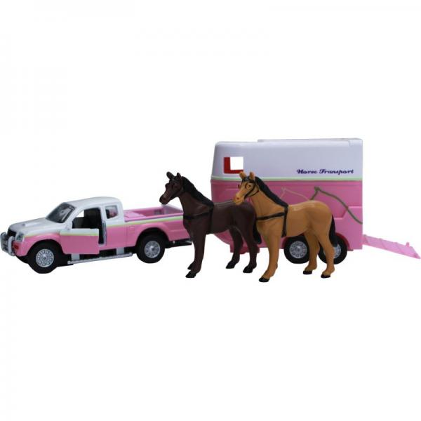 KIDS GLOBE HORSE TRANSPORT SET