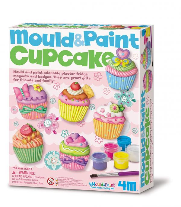 4M MOULD AND PAINT CUPCAKE KIT