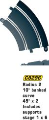 SCALEX BANKED CURVE R2 45 D
