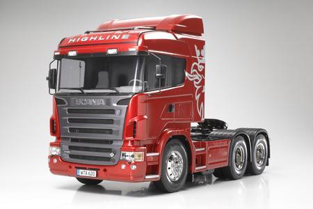 Tamiya Scania R620 6x4 High R C Trucks Radio Control