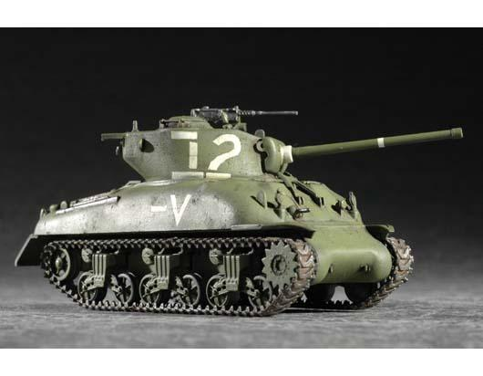 Trumpeter M4a1 Sherman Tank 1 72 Military 1 72 Scale