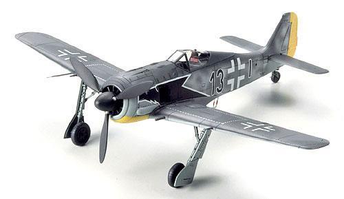 Tamiya Focke Wulf Fw190a3 1 Aircraft 1 72 Scale Tamiya