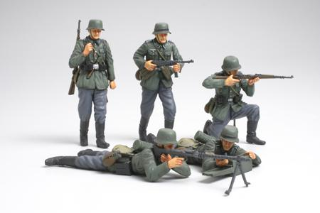 TAMIYA GER INFANTRY FRANCE | Military Figures 1/35 scale ...