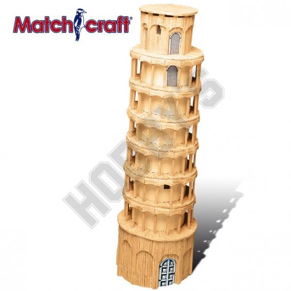 Matchcraft Leaning Tower Of Matchstick Modelling