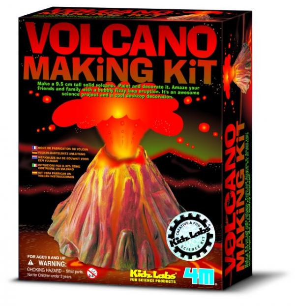 how to make a model volcano erupt youtube