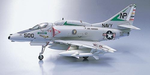 Hasegawa A 4e F Skyhawk 1 Aircraft Hasegawa Plastic