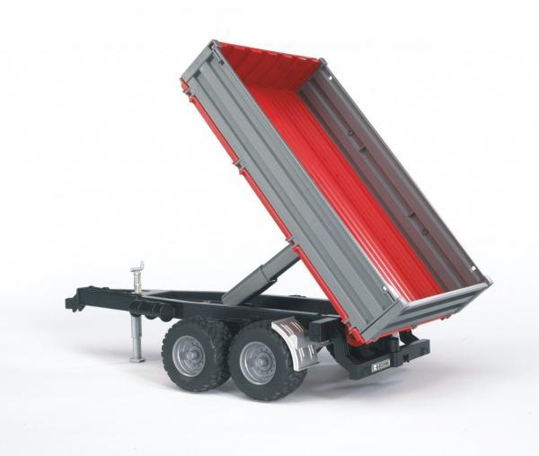 Bruder tipping trailer bruder farm models catalogue for Metal craft trailers parts