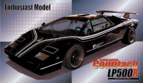 Revell 1//24 Lamborghini Countach LP500S Plastic Model Kit