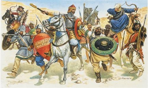 Italeri Saracen Warriors Military Figures 1 72 Italeri
